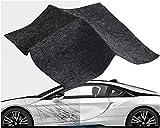 SENBERE - Paño de reparación de arañazos para coche, reutilizable, para reparación de arañazos y arañazos