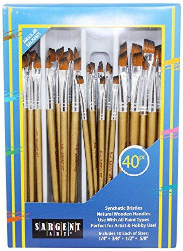 Sargent Art 56–310440Pezzi Set di pennelli angolari