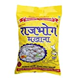 """""""RAJ BHOG"""" is a Registered Trademark. Any Unauthorized Sellers will Certainly Bear the Legal Consequences of Copyright Infringement Phool Makhana also finds significance in religious ceremonies in India and is a popular 'fasting' dish prepared during..."""