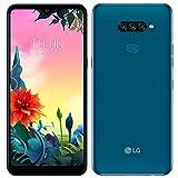 LG K50s 32GB + 3GB Dual SIM 6.5' HD+ Display, GSM 4G LTE GSM Factory Unlocked Phone (International Model) (Blue)