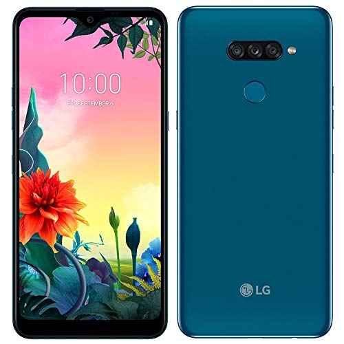 "LG K50s 32GB + 3GB Dual SIM 6.5"" HD+ Display, GSM 4G LTE GSM Factory Unlocked Phone (International Model) (Blue) Hawaii"