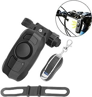 Shiwaki Kit DE ALAMBRES DE Cable para EL RECORDATORIO DE Bloqueo DE Disco DE Naranja DE Seguridad DE LA Motocicleta DE Motocicleta