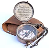 NEOVIVID for I Know The Plans I Have for You Engraved Compass, Jeremiah 29 11, Baptism Gifts, Best Easter, Birthday, Mothers Day, Fathers Day, Graduation Gift, Wedding Gifts