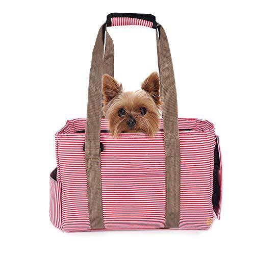 PETCUTE Bolsos de Transporte para Perros pequeños Gato Transportín para Mascotas Portador para Animal doméstico