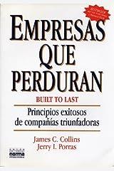 Empresas Que Perduran (Spanish Edition) Paperback