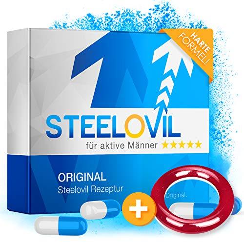*𝗘𝗜𝗡𝗙Ü𝗛𝗥𝗨𝗡𝗚𝗦𝗣𝗥𝗘𝗜𝗦* Steelovil 2.0   Neue Formel   Ultra STARK   12 Kapseln
