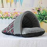 AMURAO Slipper Form Haustier Hund Schlafsack Weiche Warme Hundehütte Haus Kätzchen Oxford Stoffbeutel Matte Heimtierbedarf