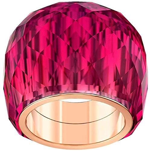 Swarovski Damen-Damenring NIRVANA Metall 55 Rot 32010505
