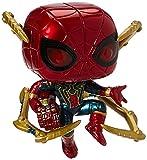 Funko- Pop Marvel: Endgame-Iron Spider w/NanoGauntlet Figura Coleccionable, Multicolor, Talla Única (45138)