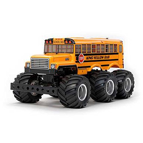 Tamiya America, Inc 1/18 King Yellow 6x6 G6-01 4WD Monster Truck Kit, TAM58653