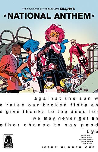 The True Lives of the Fabulous Killjoys: National Anthem #1 (English E