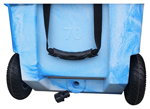 Milee-Heavy Duty Wheeled Cooler 70QT (Sea...