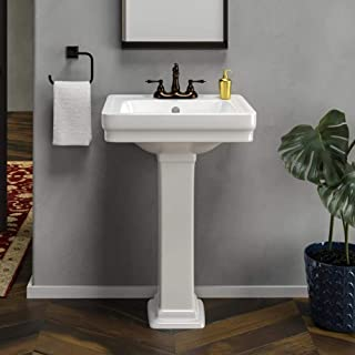 Best retrospect pedestal combo bathroom sink in white Reviews