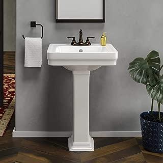 Tifton 100 Vitreous China Pedestal Sink