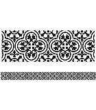 Schoolgirl Style - Simply Stylish | Tile Straight Borders