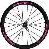 Pegatinas Llantas Bicicleta Zipp 404 WH99 Rosa Fluor