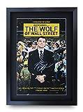 HWC Trading Wolf of Wall Street A3 Gerahmte Signiert