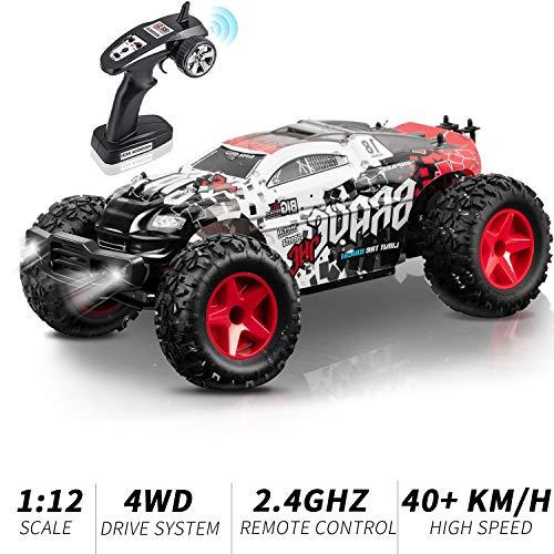 KOOWHEEL Rc Auto, Auto Radiocomandata Monster Truck 2.4Ghz Rc Car 1/12 4WD Alta Velocita Monster...