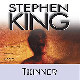 Thinner audiobook cover art