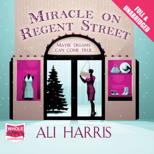 Miracle on Regent Street audiobook cover art