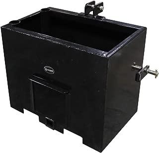 Titan Distributors Inc. Ballast Box 3 Point Category 2 Tractor Attachment Counterweight