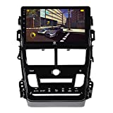 ADITION Android 9.0 Touch Screen Double Din Car Stereo Player with Navigation/GPS/WiFi/Bluetooth Full