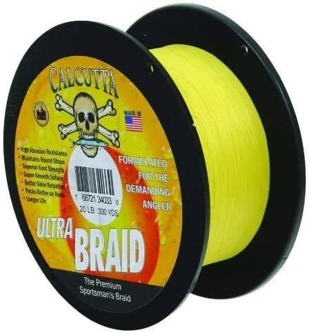 Calcutta Ultra 300 New Shipping Free Shipping Braid Line Yards New product