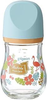 """贝亲 Pigeon *实感 奶瓶 耐热玻璃制品 """"my Precious"""" 帽檐 160ml"""