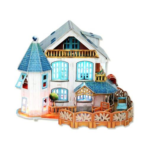 CubicFun 3D Puzzle Kid-série ''Rural Villa''