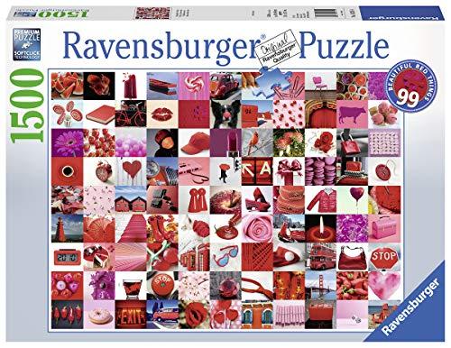 Ravensburger 162154 Puzzel 99 Beautiful Red Things - Legpuzzel - 1500 Stukjes