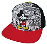 Disney Mickey Mouse Comics Adult Baseball Cap [6013] Red and Black