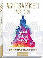 Achtsamkeit für dich - 50 Karma-Kärtchen: Schön gestaltete Achtsamkeitskarten in Geschenkbox zur Stressbewältigung im...
