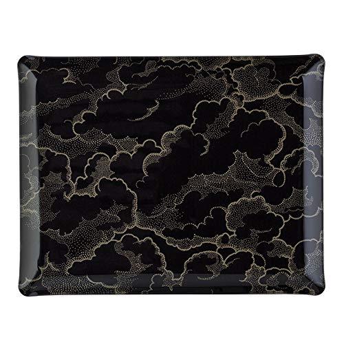 PLATEX 4037281186 Plateau Acrylique Nuage Noir, ACRYLQUE, 37X28