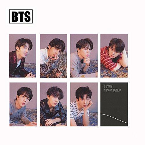 bosunshine BTS Fake Love Lomo Karte Postkarte 30Stück/Set Geschenk für Armee O Ver.