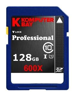 Komputerbay Professional - Tarjeta de memoria Secure Digital de velocidad extendida, 128GB SDXC , Clase 10 600X UHS-I, 60 MB/s escribir, 90MB/s leer (B00CX8SJDM) | Amazon price tracker / tracking, Amazon price history charts, Amazon price watches, Amazon price drop alerts