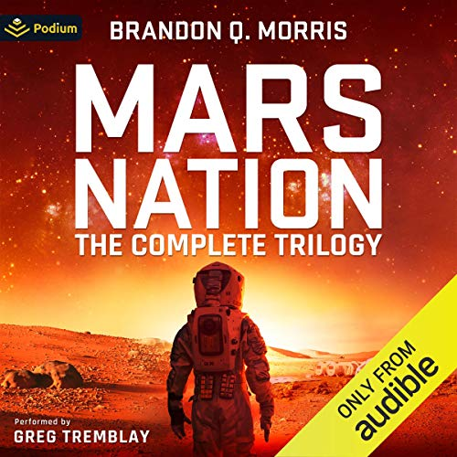 Mars Nation: The Complete Trilogy cover art