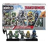 Kre-O Transformers Silver Knight Autobots 5 Kreon Set: Silver Knight Optimus Prime / Hound / Crosshairs / Bumblebee / Drift
