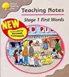 Oxford Reading Tree: Stage 1: First Words: Teaching Notes
