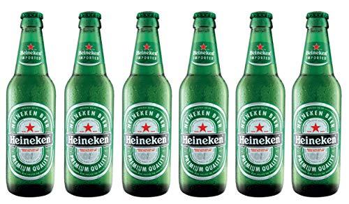 Heineken - Pils 5%Vol - MW 6x 0,33l inc. 0.48€ MEHRWEG Pfand