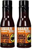 Buffalo Wild Wings Barbecue Sauces, Spices, Seasonings and Rubs For: Meat, Ribs, Rib, Chicken, Pork, Steak, Wings, Turkey, Barbecue, Smoker, Crock-Pot, Oven (Asian Zing, (2) Pack)