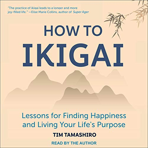 Diseño de la portada del título How to Ikigai