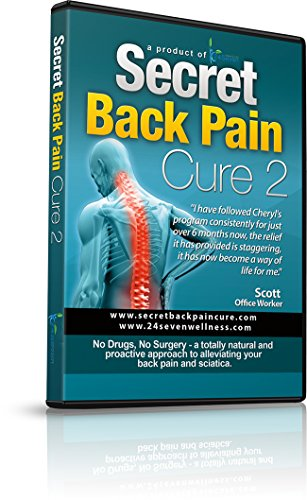 24Seven Wellness and Living Secret Back Pain Cure 2 DVD Exercises Designed to Promote Improved Stability and Posture.Yoga and Pilates Based Program for Relief of Lower, Upper Back Pain.