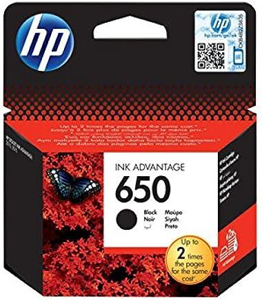 HP CZ101AE No 650 Siyah Kartuş, Siyah, Standart