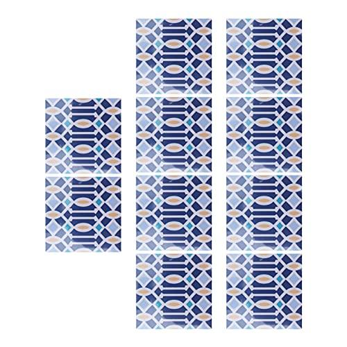 Etiquetas engomadas del Piso, Etiqueta engomada Impermeable de la Pared para la decoración casera para el Cuarto de baño de la Cocina(6)