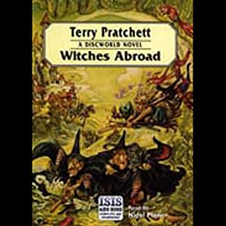 Witches Abroad                   By:                                                                                                                                 Terry Pratchett                               Narrated by:                                                                                                                                 Nigel Planer                      Length: 8 hrs and 28 mins     2,203 ratings     Overall 4.7
