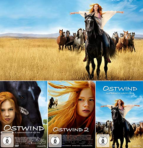 Ostwind 1 + 2 + 3 Collection (3-DVD) Kein Box-Set