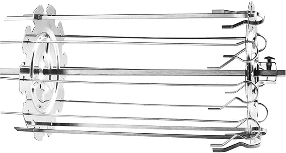 New Orleans Mall Skewer Rack Rotating Set Stainless Skewers Ke Needle mart Cage Steel