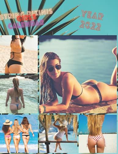 2022 string bikinis sexy girls calendar