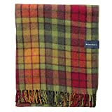 "The Tartan Blanket Co. Recycled Wool Blanket Buchanan Autumn Tartan (59"" x 75"")"