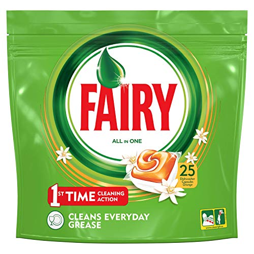Fairy Cápsulas para lavavajillas–7paquetes de 25cápsulas [175cápsulas]